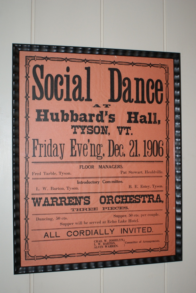 Old Dance Flyer