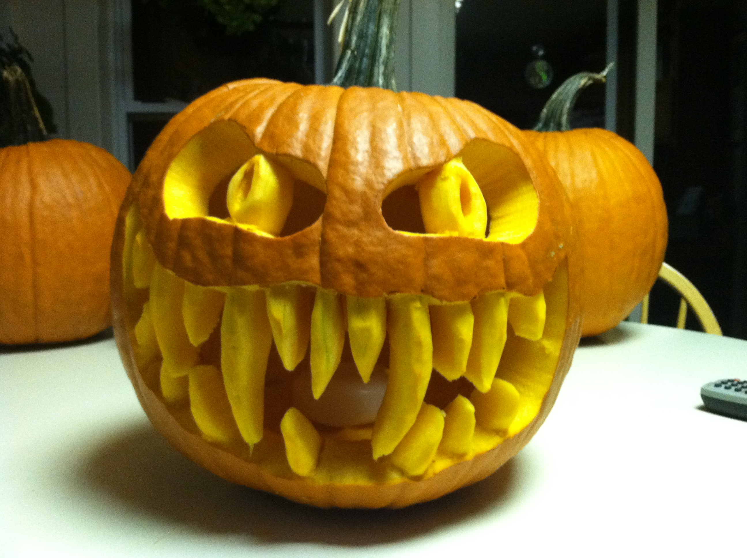 Pumpkins are just for pies and Jack-O-Lanterns…or are they ...